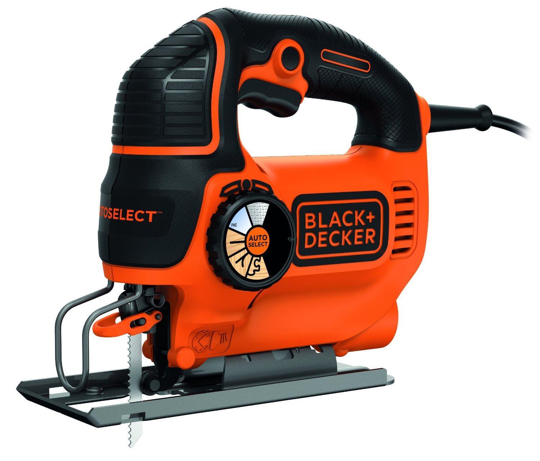 Scie sauteuse avec lame 550 W Black + Decker KS801SE
