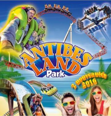 Pass de 10 tickets de manèges définis pour adulte ou adolescent du Parc Antibes Land