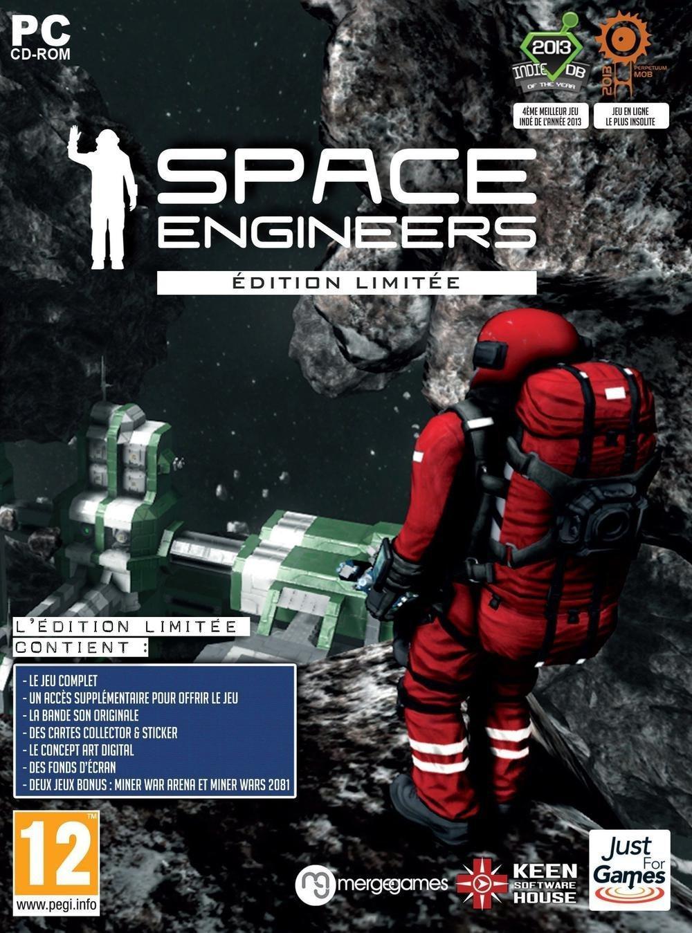 Jeu Space engineers sur PC à 6.26 (2 clés steam édition limitée)