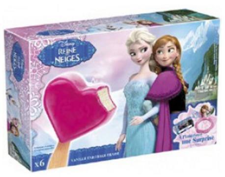 Sélection d'articles optimisés - Ex : Pack de 6 glaces bâtonnet La reine des neiges (via BDR de 0.75€)