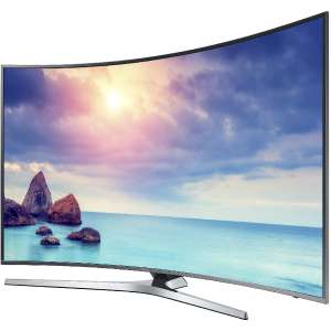 "Sélection de TV Samsung en promotion - Ex : TV 55"" UE55KU6650 - LED, 4K, Incurvée, Smart TV (via ODR de 20%)"