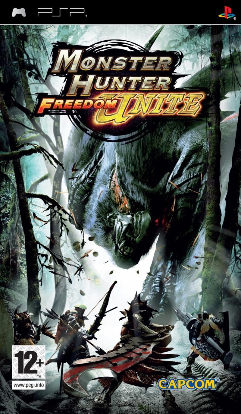 Sélection de jeux vidéo en promotion - Ex : Monster Hunter Freedom Unite sur PSP