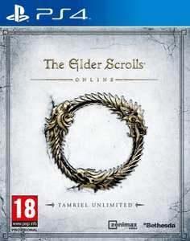 The Elder Scrolls Online: Tamriel Unlimited sur PS4