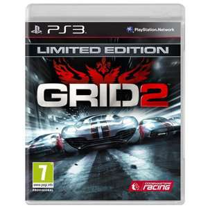 Grid 2 Edition Limitée PS3/Xbox360 / Via Buyster