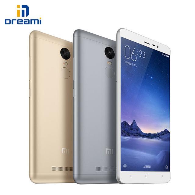 """Smartphone 5.5"""" Xiaomi Redmi Note 3 Pro - 4G, RAM 2Go, ROM 16Go, FullHD"""