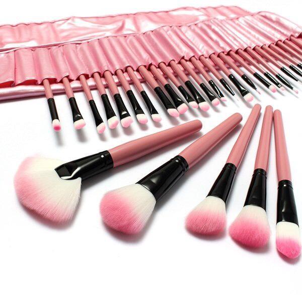Pack 32 pinceaux maquillage + Étui