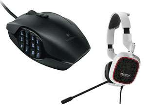 Souris MMO Gaming Logitech G600 MMO + Casque 7.1 Astro A30 + MixAmpDolby 7.1
