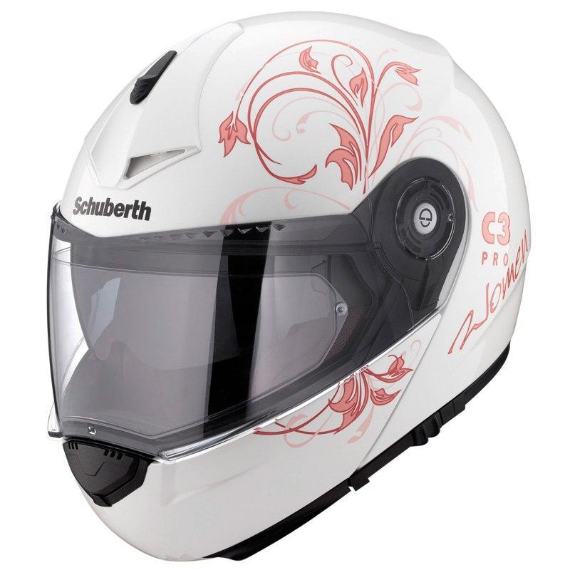 Casque moto Schuberth C3 Pro Woman Euphoria (parme ou rose)