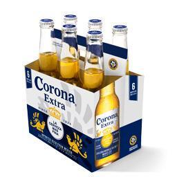 Pack de bière Corona Extra - 6x35,5 cl