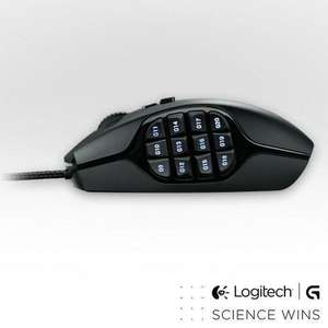 Souris Logitech G600 MMO Gaming Mouse Black