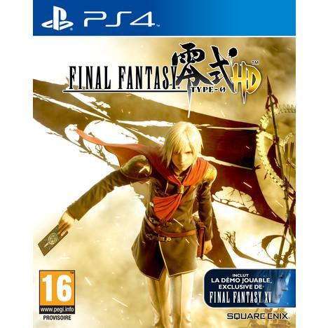 Sélection de jeux vidéo et consoles en solde (3ème DEMARQUE) - Ex : Final Fantasy : Type 0 HD sur PS4/XBO