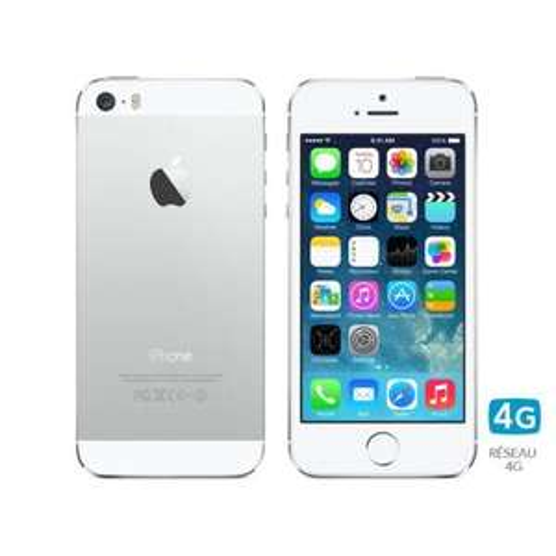 iPhone 5S 16 Go Blanc Argent [NEUF]