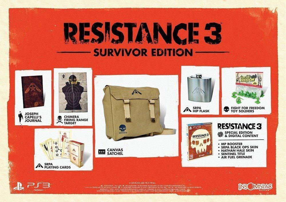 Resistance 3 - Survivor edition sur PS3