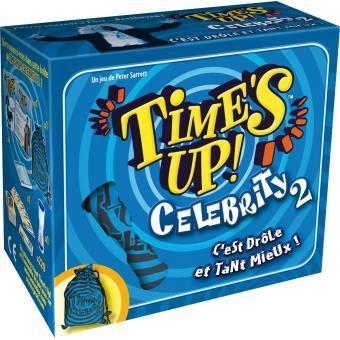 Time's Up Celebrity 2 Asmodée Bleu