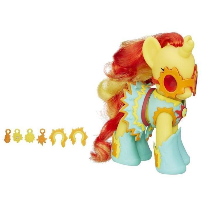 My Little Pony Beaute Et Acc 15 Cm Sunset Shimmer
