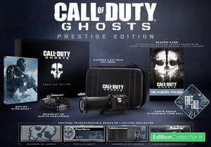 Call of Duty : Ghosts - édition prestige sur Xbox One