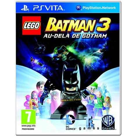 Lego Batman 3 Au Delà de Gotham sur PS Vita