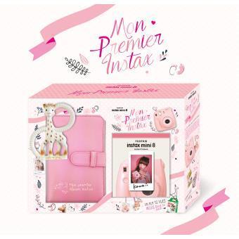 Pack Fujifilm Mini 8 Baby Shower Rose