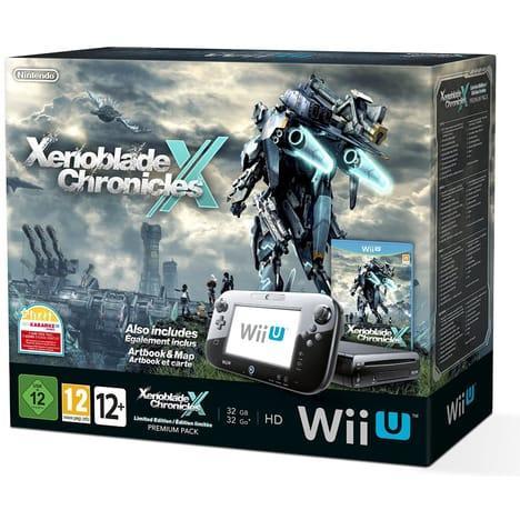 Bundle Wii U 32 Go Noire Xenoblade Chronicles X - Edition limitée
