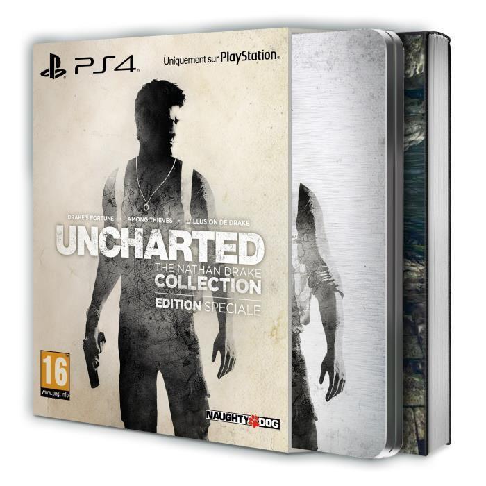 Uncharted Collection - Édition Spéciale sur PS4