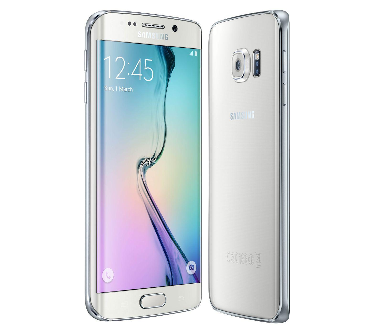 """Smartphone 5.1"""" Samsung Galaxy S6 Edge - 64 Go, Blanc (via ODR de 70€)"""