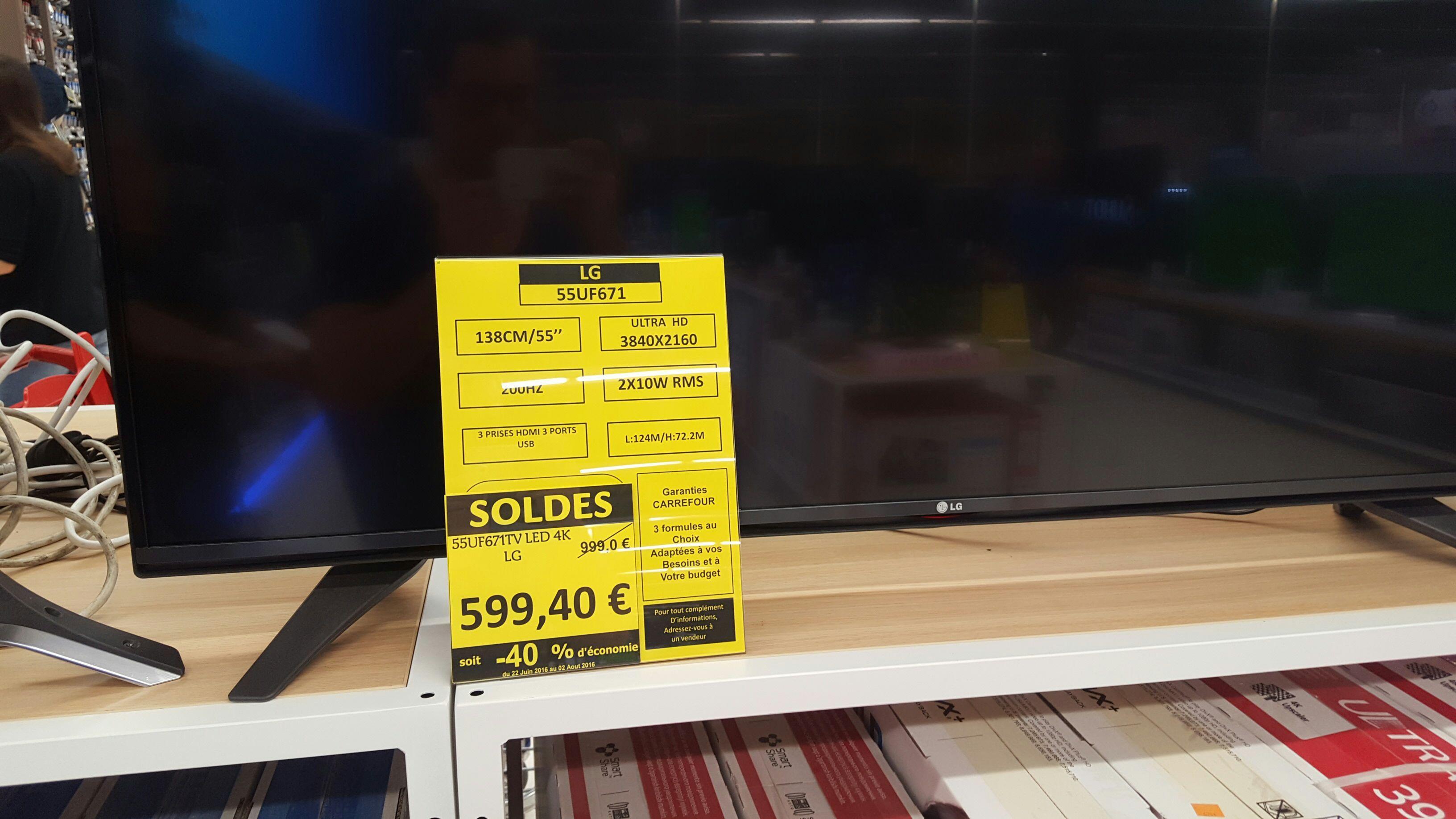 """TV LED 55"""" LG 55UF671 4K"""