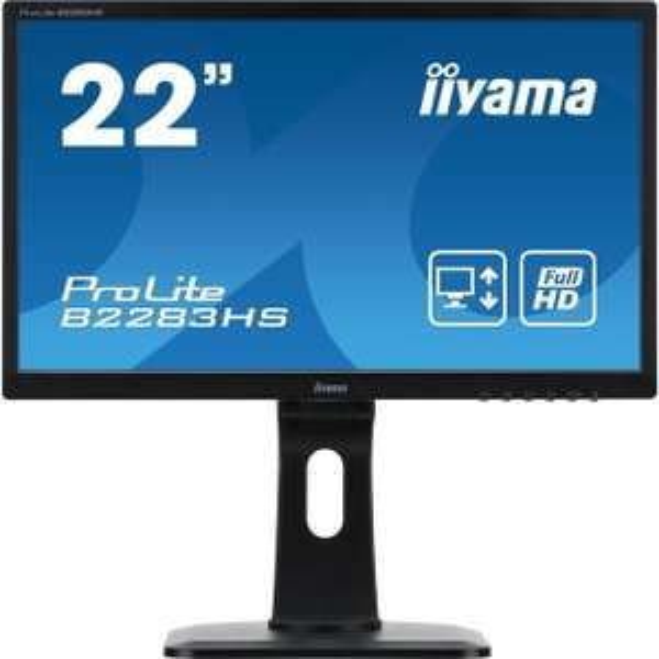 "Ecran PC 22"" Iiyama B2283HS-B1 2ms - Full HD"