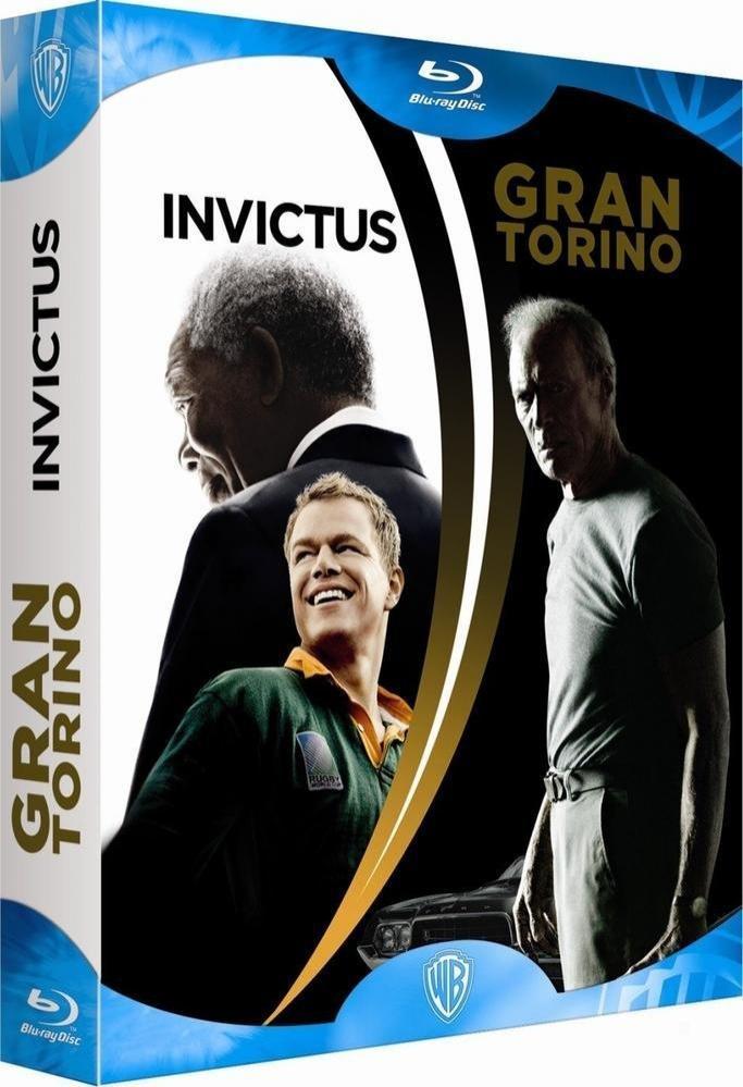 Coffret Blu-ray Invictus + Gran Torino