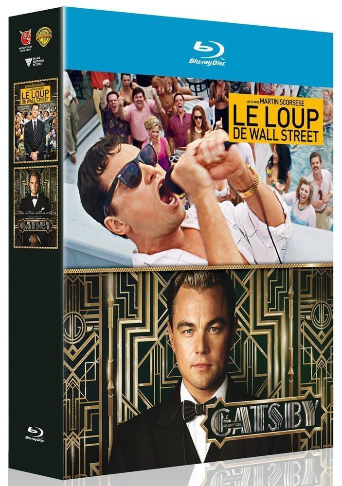 Coffret Blu-ray Gatsby le magnifique + Le Loup de Wall Street