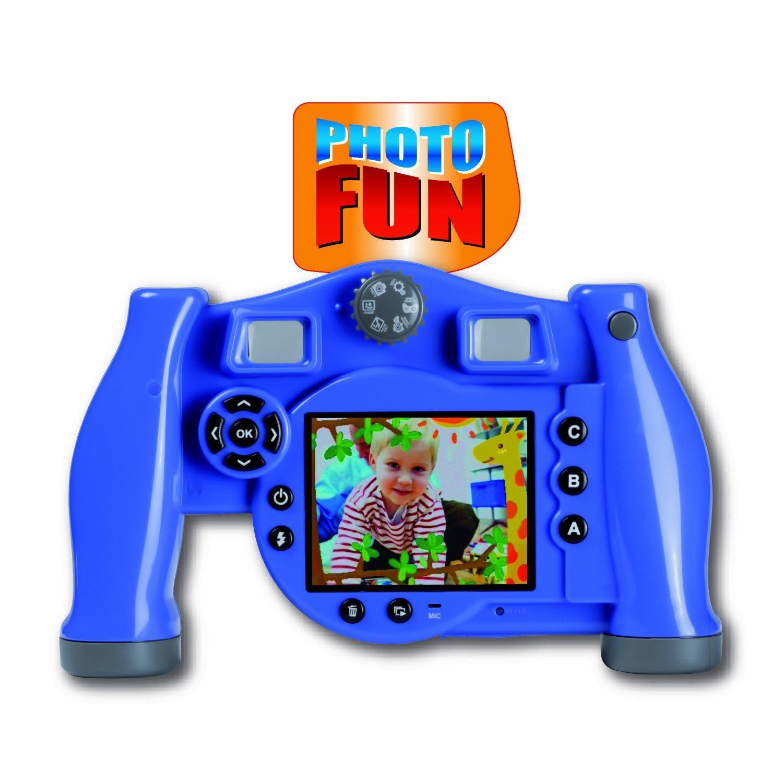 Appareil photo numérique pour enfant Videojet 5026 Photo Fun - Bleu