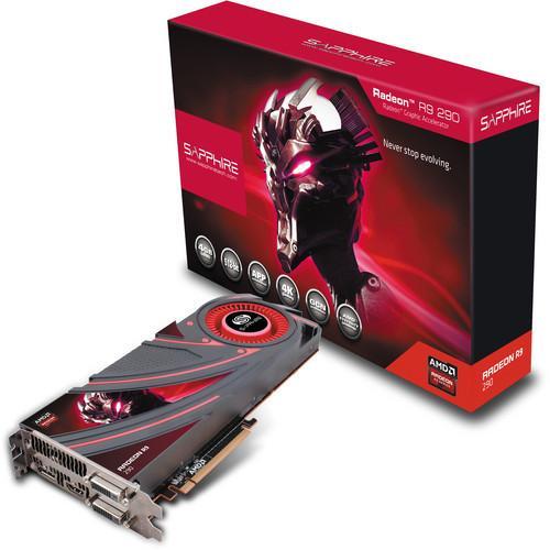 Carte graphique Sapphire AMD R9 290 4G GDDR5 PCI-E - Reconditionnée
