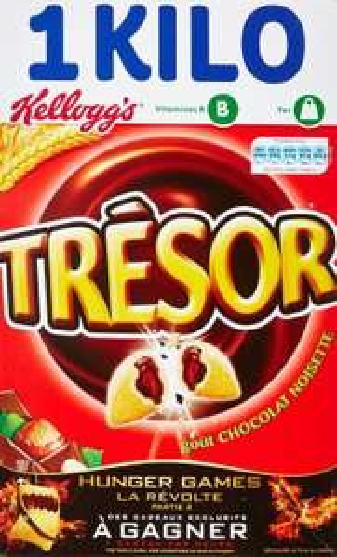 [Panier Plus] Kellogg's Céréales Trésor Chocolat Noisette 1 kg