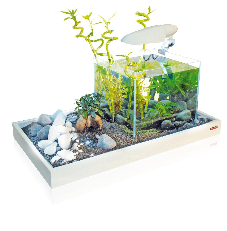 Aquarium Wave Zen Artist 75 Blanc ou Noir