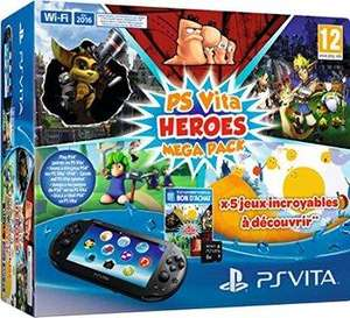 Console Sony PS Vita Slim (Wi-Fi) Heroes Mega Pack