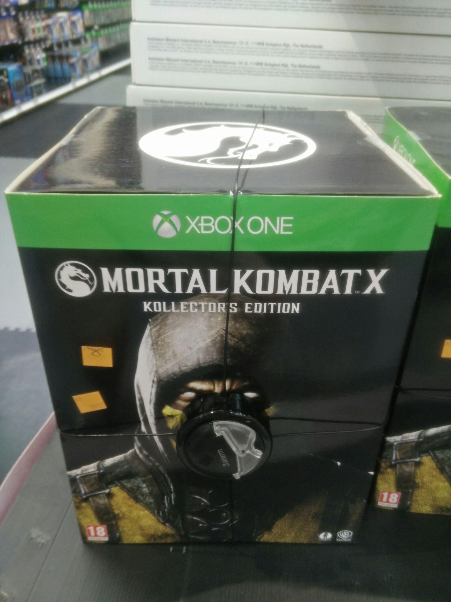 Mortal Kombat X: Kollector's Edition sur Xbox One