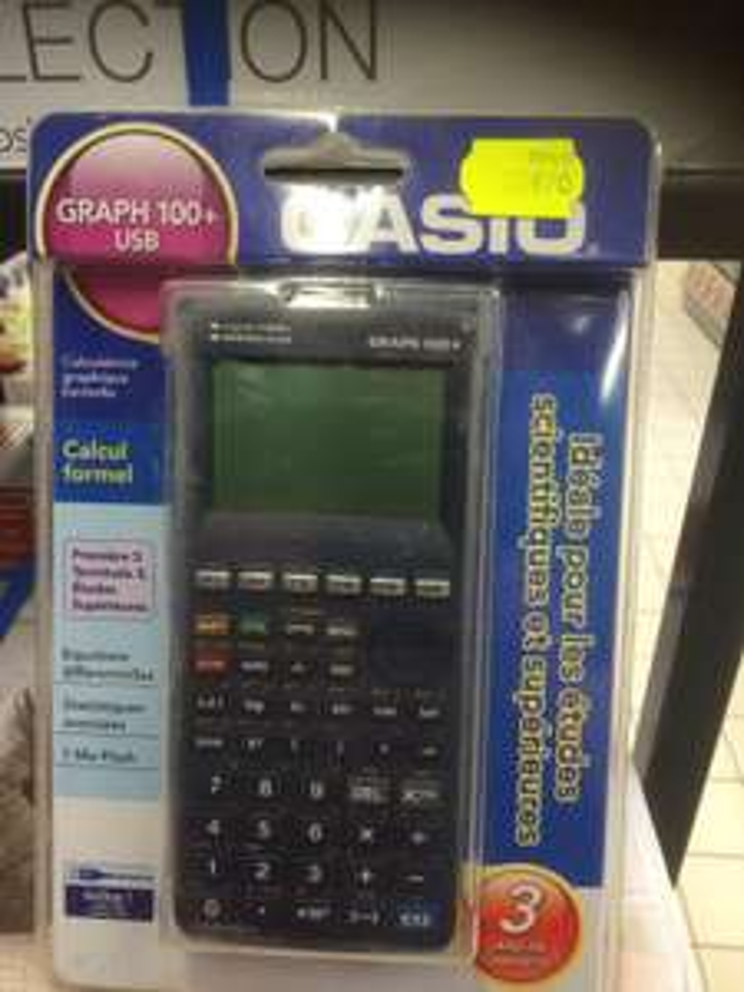 Calculatrice Casio Graph 100+ USB