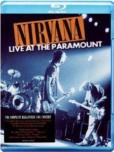 Blu Ray Nirvana Live At The Paramount (Édition 20ème Anniversaire Nevermind)