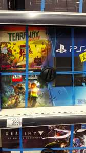 Pack console PS4 500 Go + Tearaway/Lego jurassic world