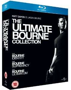 Coffret Blu-Ray - The Ultimate Bourne : Collection (Trilogie)