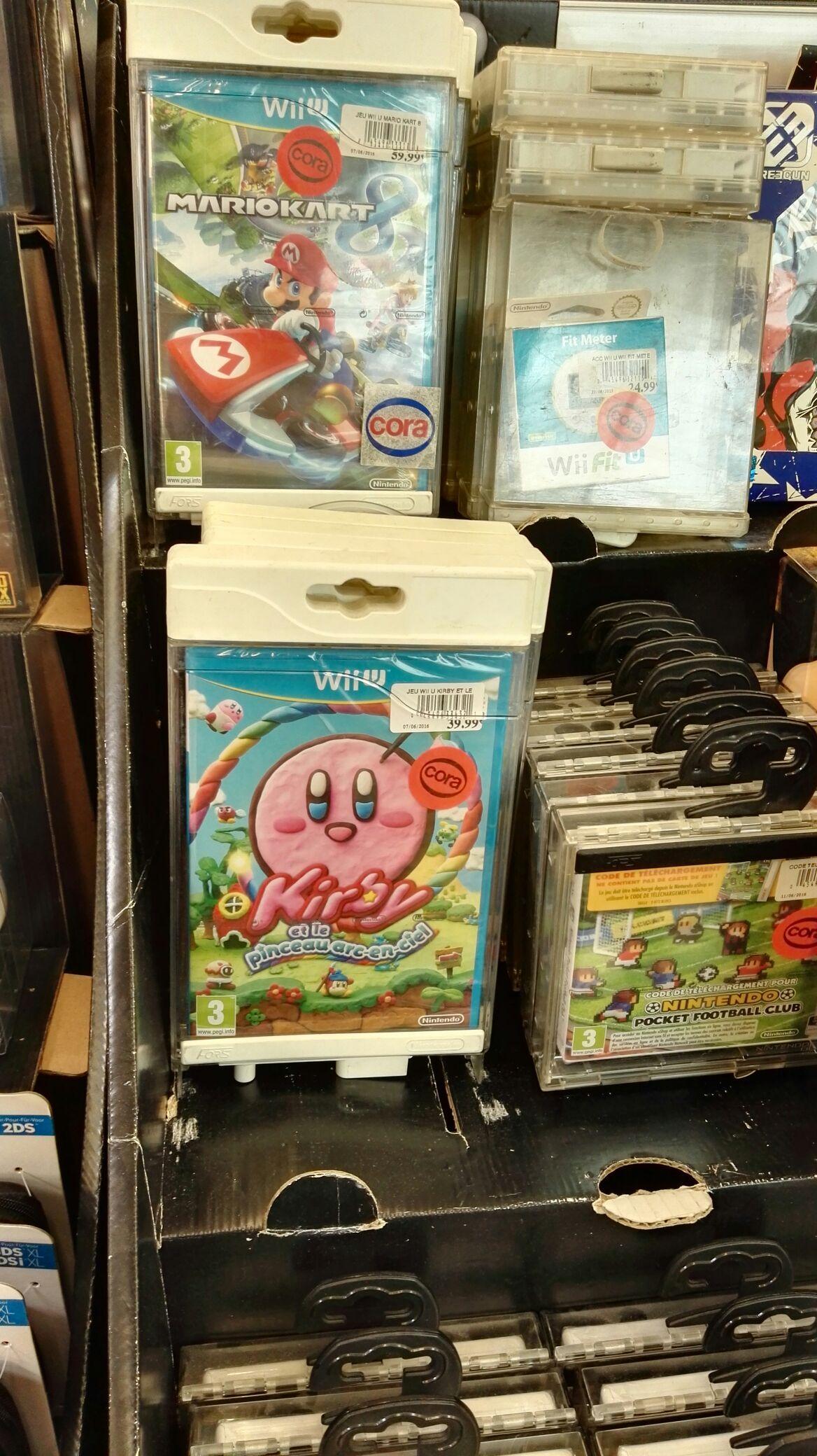 50% de réduction sur une sélection de jeux Wii u et 3DS - Ex : Kirby et le pinceau arc en ciel