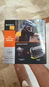 Pack Caméra sportive Sony HDR AS20 - Full HD