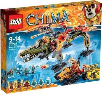 Jouet Lego Legends of Chima - Le sauvetage du Roi Crominus (70227)