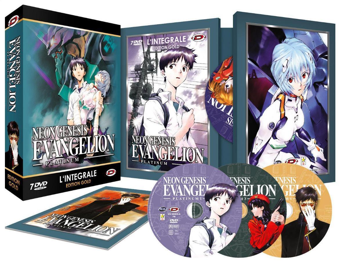 Coffret DVD Evangelion (Neon Genesis) - L'Intégrale + Livret (édition Gold)