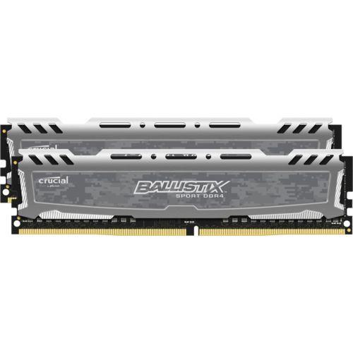 Kit mémoire RAM Crucial Ballistix Sport LT (DDR4, 2400 Mhz, CAS 16) - 16 Go à 59.99€ et 8 Go