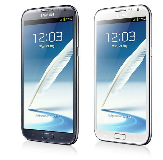 Samsung Galaxy Note 2 Gris ou Blanc + Etui Belkin avec stand intégré (Avec ODR de 50€)