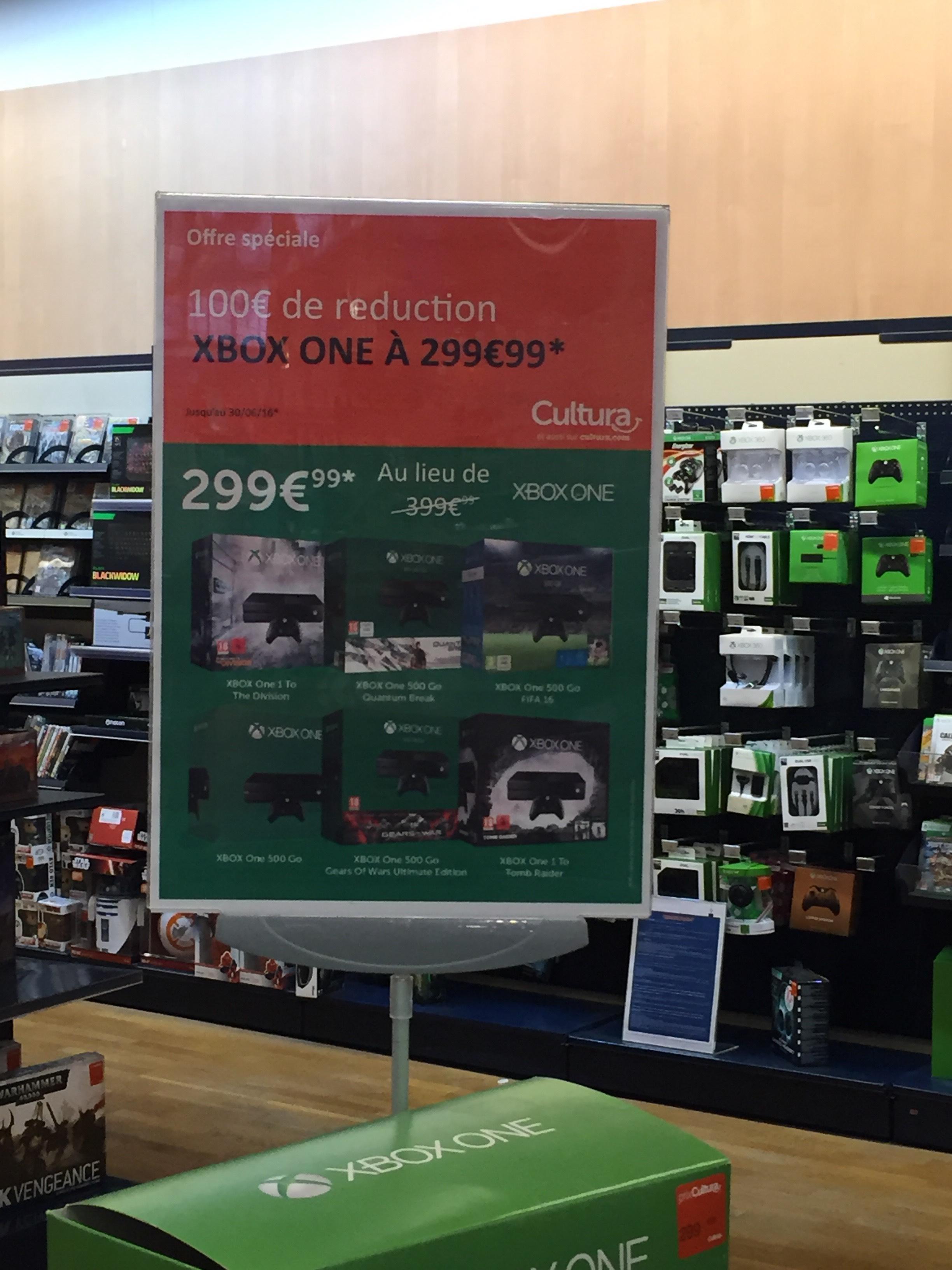 Sélection de packs Xbox One à 299.99€ - Ex : Xbox One 1To + The Division
