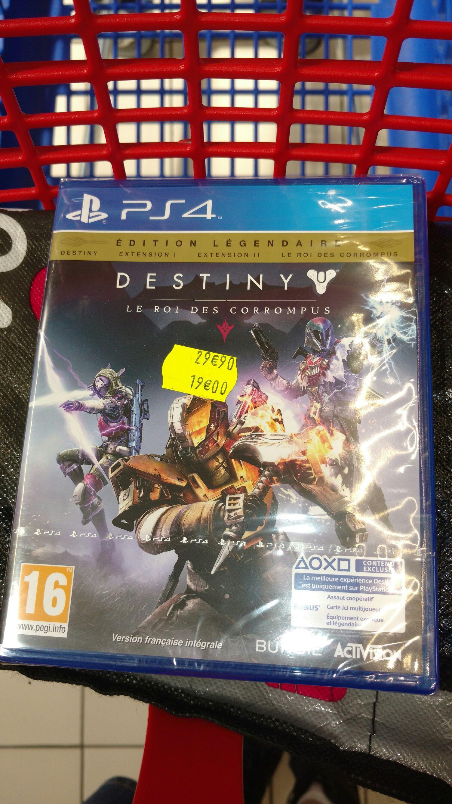 Destiny Le Roi Des Corrompus sur PS4