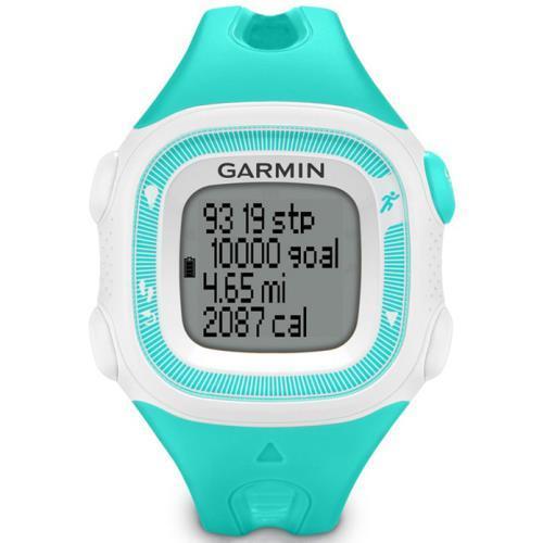Montre GPS Garmin Forerunner 15 - turquoise