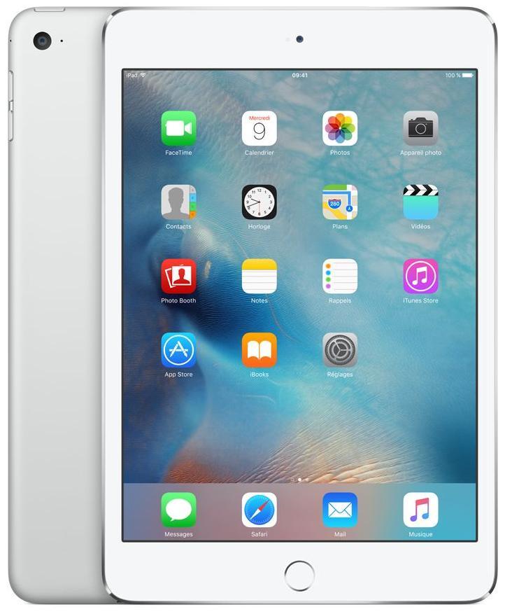 Tablette Apple iPad Mini 4 128Go Wi-Fi Silver