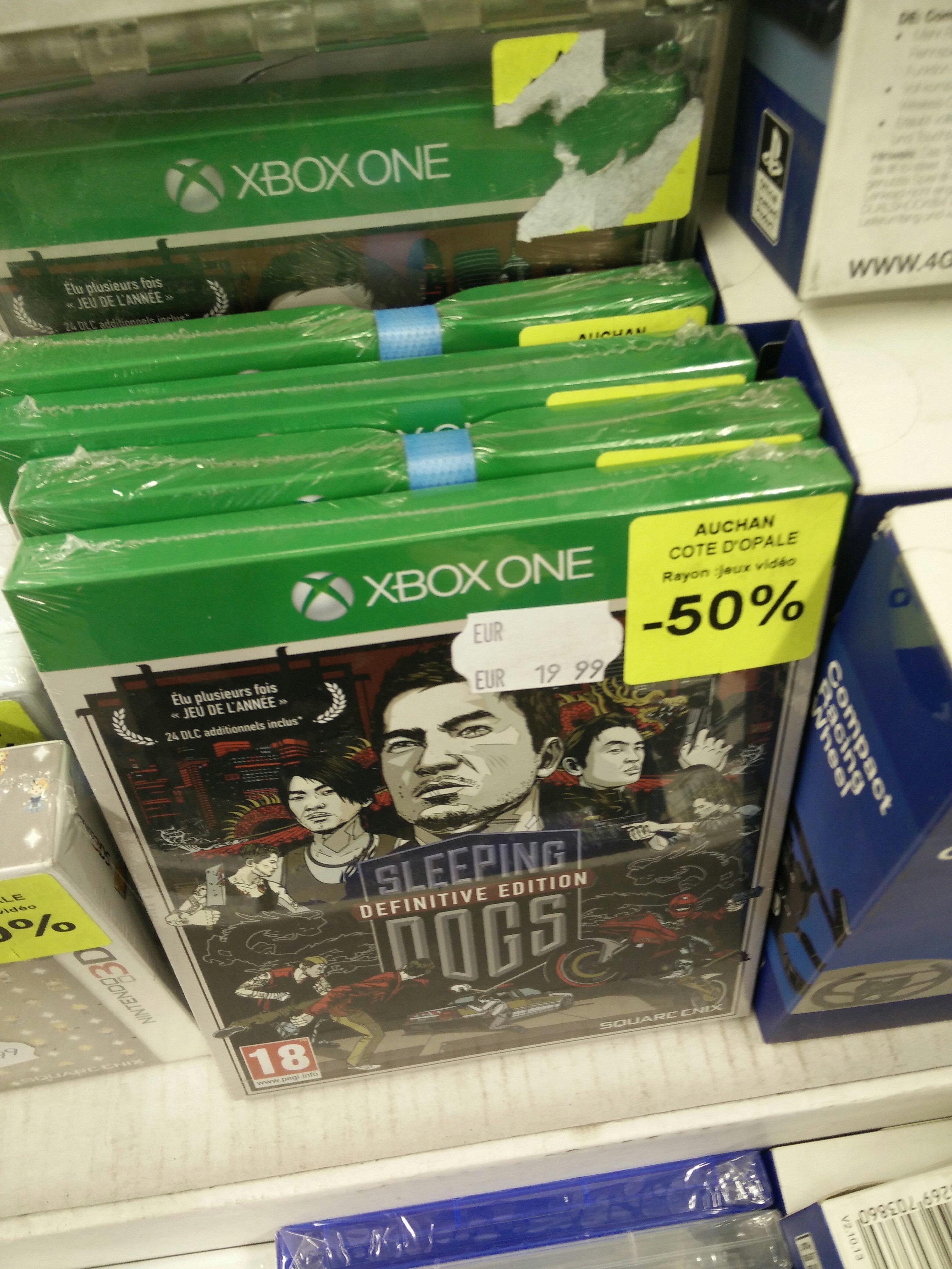Sélection de jeux vidéo et accessoires en promotion - Ex : Sleeping Dogs - Definitive Edition sur Xbox One